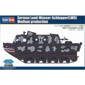 HobbyBoss Puzzle Pièces German Land Wasser Schlepper Lws Medium Production