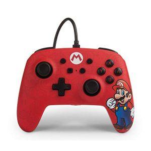 Power A Wired Controller Mario For Nintendo New [Nintendo
