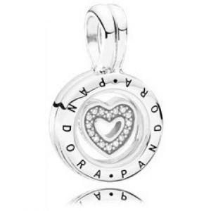 Pandora Charm Pendentif 792144CZ Charm M?daillon Lumineux Femme