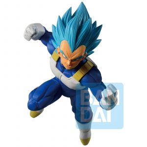Banpresto Dragon Ball Z - Dokkan Battle - Ichibansho Figurine Vegeta Ssg 18cm