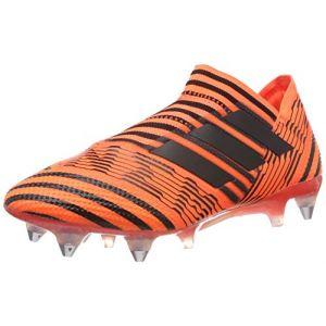 Adidas Nemeziz 17+ 360agility SG, Chaussures de Football Homme, Orange/Schwarz, 44 2/3 EU