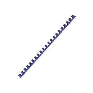 Fellowes 5345906 - Boîte de 100 reliures à anneaux plastique, diamètre 10 mm, coloris bleu
