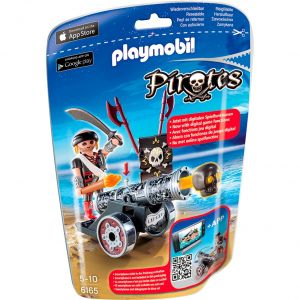 Playmobil 6165 - Pirates : avec canon noir