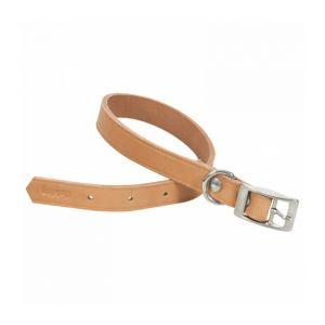 Chapuis sellerie Collier en cuir naturel pour chien Largeur 40 mm Longueur 70 cm