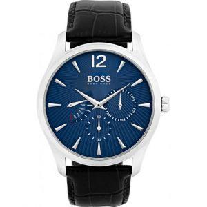 Hugo Boss 1513489 - Montre pour homme avec bracelet en cuir