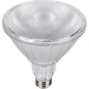 Segula LED Réflecteur PAR38 E27 18W => 200W - blanc/dimmable/CLASSIC LINE/angle de rayonnement 40°/CRI80/50-60Hz/2700K/1500lm/H 13cm/Ø12.5cm