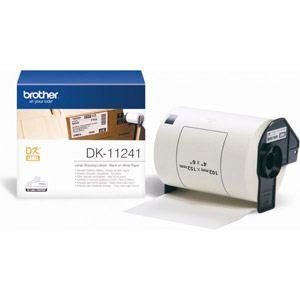 Brother DK11241 - 200 étiquettes adresses grandes expéditions (10,2 x 15,2 cm)