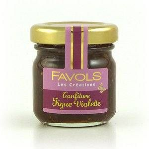 Favols Confiture Figue Violette 42 g - Lot de 10