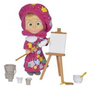 Simba Toys Poupée Masha peintre