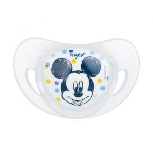Tigex Mickey 2 Sucettes Physiologiques Silicone +6m