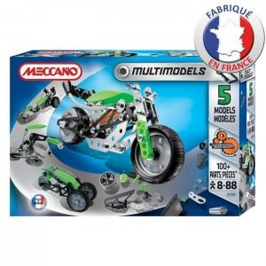 Meccano 834550 - Multimodels : 7 modèles New Generation