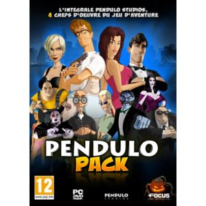 Pendulo Pack : Runaway : A Road Adventure + The Dream of the Turtle + A Twist of Fate + The Next BIG Thing [PC]