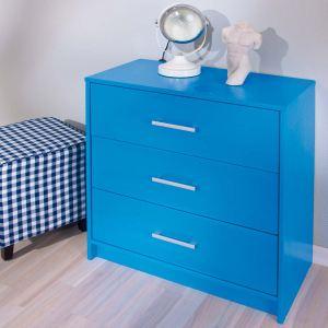 FLASHY Commode New York 3 tiroirs en bois