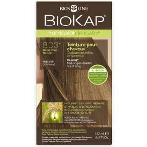 Biokap Coloration Nutricolor - Teinture pour cheveux 8.03 Blond Clair Naturel