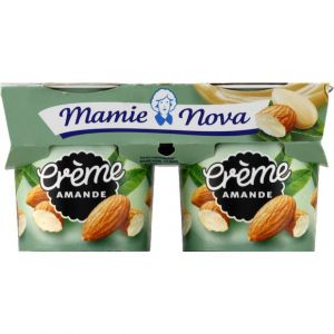 Mamie nova Crème amande