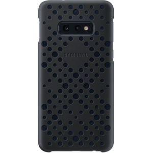 Samsung Coque S10 Flat Perforée noir & vert