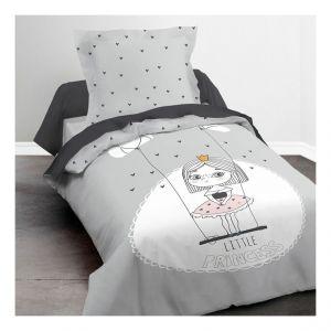 Today Housse de couette enfant 140x200 cm avec 1 taie d'oreiller 63x63 cm Parure de lit Coton Kids Kool 1.10