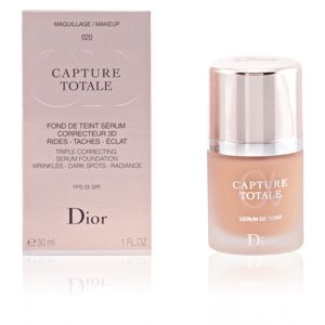 dior capture totale 020 beige clair fond de teint s rum correcteur 3d rides taches clat. Black Bedroom Furniture Sets. Home Design Ideas