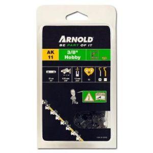 """Arnold Chaîne 3/8"""" LP, 1,3mm, 53 Entr., avec element de securité, demi rond - 1191-X1-0015"""