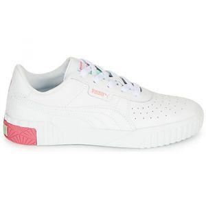 Puma Chaussures enfant CALI blanc - Taille 28,29,30,31,32,33,34,35