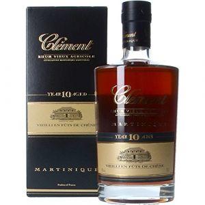Clement 10 ans Rum Vieux Agricole 0,7 L 42%