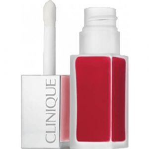 Clinique Pop liquid matte 02 Flame Apple Pop - Rouge laque mat + base