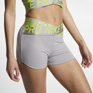 Nike Short Pro 7,5 cm Femme - Gris - Taille XS - Female