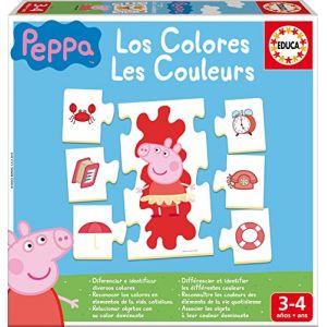 Educa Les Couleurs Peppa Pig