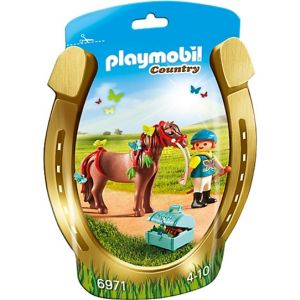 Playmobil 6971 Country - Poney à décorer papillon