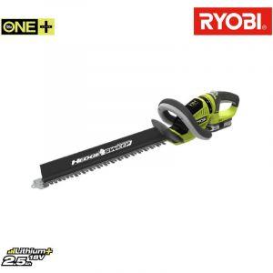 Ryobi Taille-haies 18V OnePlus LithiumPlus 1 batterie 2.5Ah 1 chargeur RHT1851R25F
