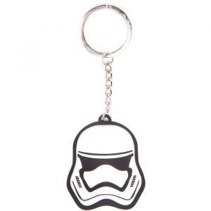 Porte clés en caoutchouc : Casque de Stormtrooper