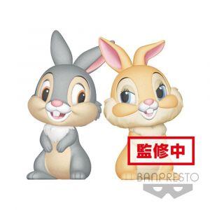 Bandai Figurine - Disney - Panpan et Miss Bunny Q Posket Characters - 8 cm