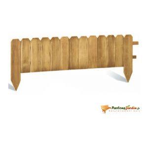 Jardipolys 0220480 - Bordure à planter en pin 120 x 45 cm