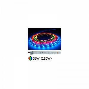Image de Vision-El Bandeau LED 36W (280W) 12V IP67 (gaine silicone) RGB -