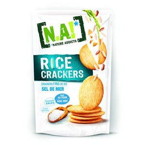 N.a! Rice Crackers Sel de Mer 70 g