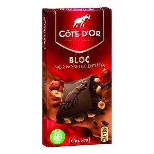 Côte d'Or Chocolat noir noisette - Le paquet de 180g