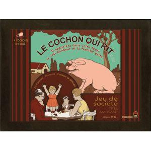 Dujardin Le cochon qui rit : version luxe en bois