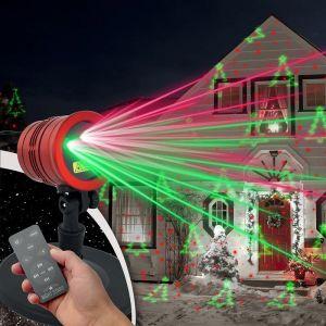 Passat Projecteur lumineux de Noël X-MAS NIGHTSTARS avec télécommande