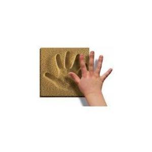 Kit d'empreinte main ou pied sable naturel