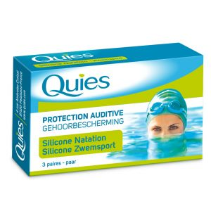 Quies Protection auditive silicone adulte