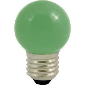 LightMe Ampoule LED LM85252 230 V E27 0.5 W vert en forme de goutte (Ø x L) 45 mm x 70 mm 1 pc(s)