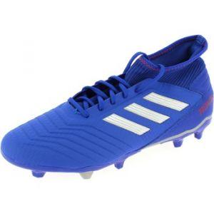 Adidas Chaussures de foot Chaussure de football terrain souple Predator 19.3 bleu - Taille 42,44,41 1/3,43 1/3,45 1/3