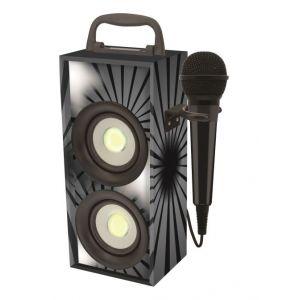 Lexibook Mini tour de son Bluetooth avec microphone - Version noire