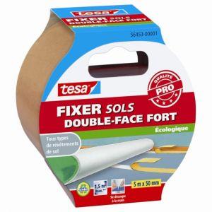 Tesa Adhésif double face pour sol FIXER fort 5m