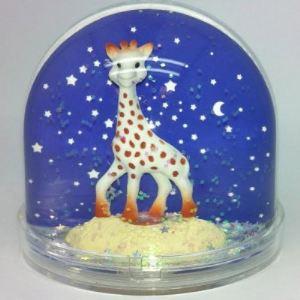 Trousselier Boule à neige porte-photo Sophie la girafe