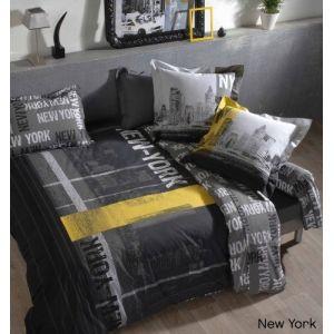Linnea New York - Housse de couette en coton (220 x 240 cm)
