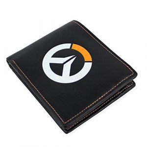 Gaya Entertainment Overwatch OVERWATCH Logo Faux Leather Tri-Fold Porte-Monnaie 12 Centimeters Noir