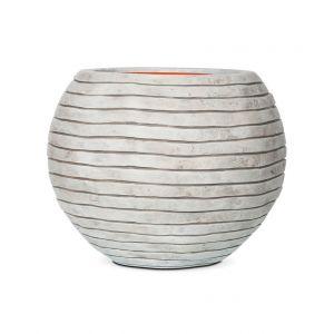 Capi Tutch Rond boule Sphérique Rayé 40 x 32 cm