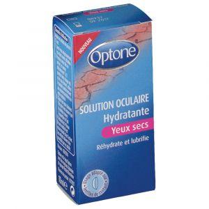 Optone Solution oculaire pour les yeux secs