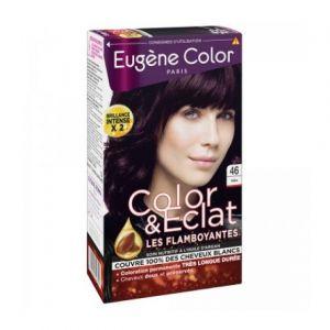 Eugène Color Coloration permanente, 46 violine, soin nutritif @ l'huile d'argan
